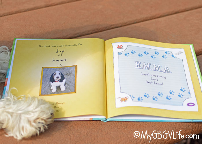 My GBGV Life Introducing The Best Personalized Dog Book Ever!