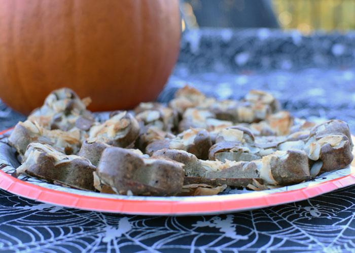 My GBGV Life Chef Emma Bakes Mummified Liver Bone Cookies