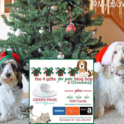 Welcome To The 4 Gifts For Pets Giveaway Extravaganza!