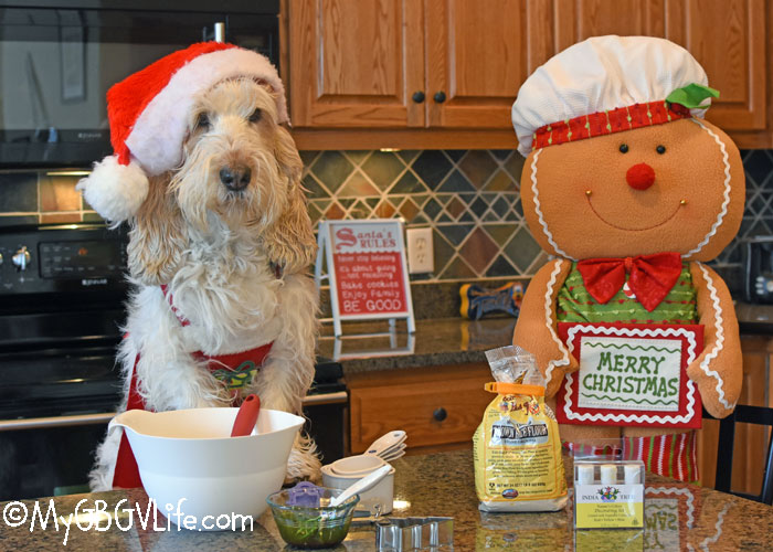 My GBGV Life Chef Emma Bakes Tasty, Peppermint, Holiday Cookies For Dogs