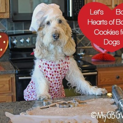 Hearts Of Bacon Valentines Cookies For Dogs