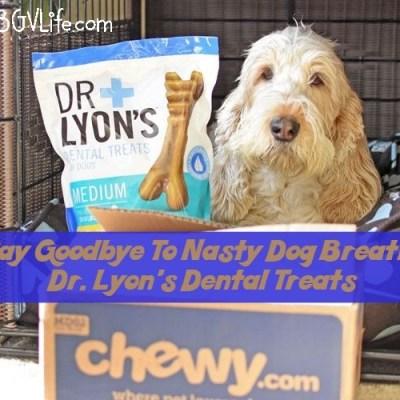 Say Goodbye To Nasty Dog Breath #ChewyInfluencer