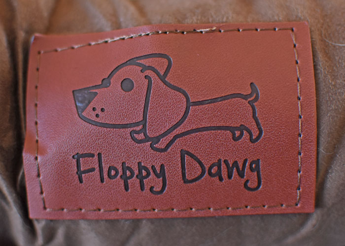 My GBGV Life Flop On Into Your Own Floppy Dawg Orthopedic Dog Bed