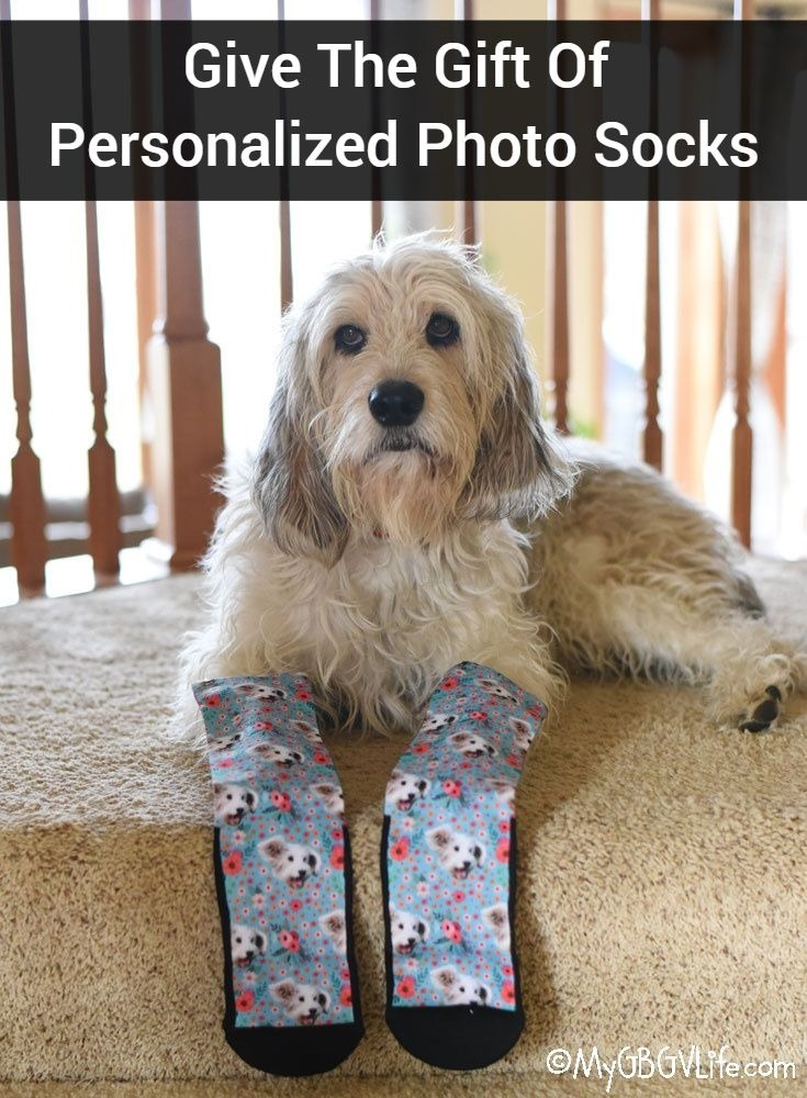 My GBGV Life Give The Gift Of Personalized Photo Socks