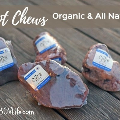 Organic, All Natural Root Chews For Dogs