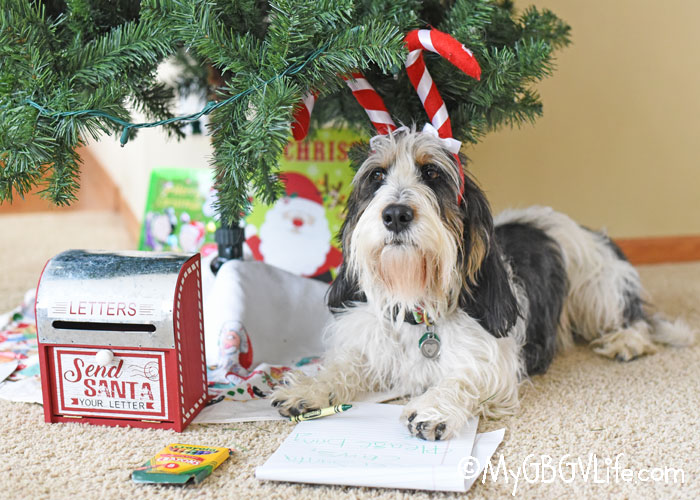 My GBGV Life Time To Write Our Letters To Santa Claus