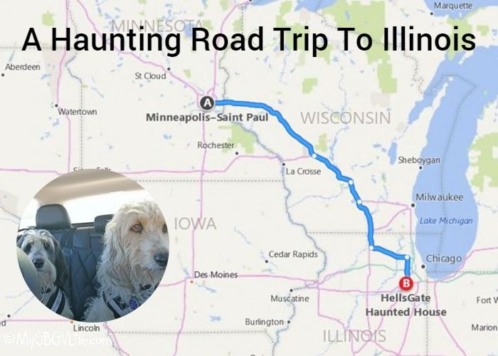 My GBGV Life Hells Gate Haunted House - A Haunting Road Trip To Illinois