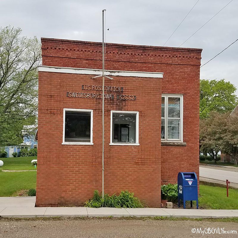 My GBGV Life Swedesburg post office