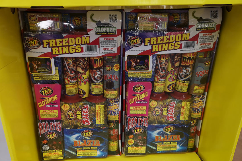 My GBGV Life fireworks for sale