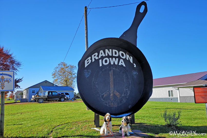 My GBGV Life Iowas largest frying pan