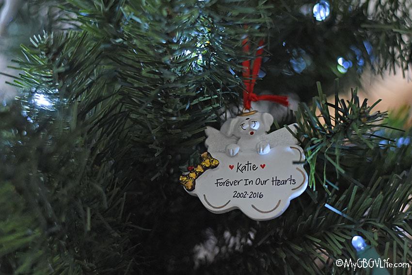 My GBGV Life Katies ornament