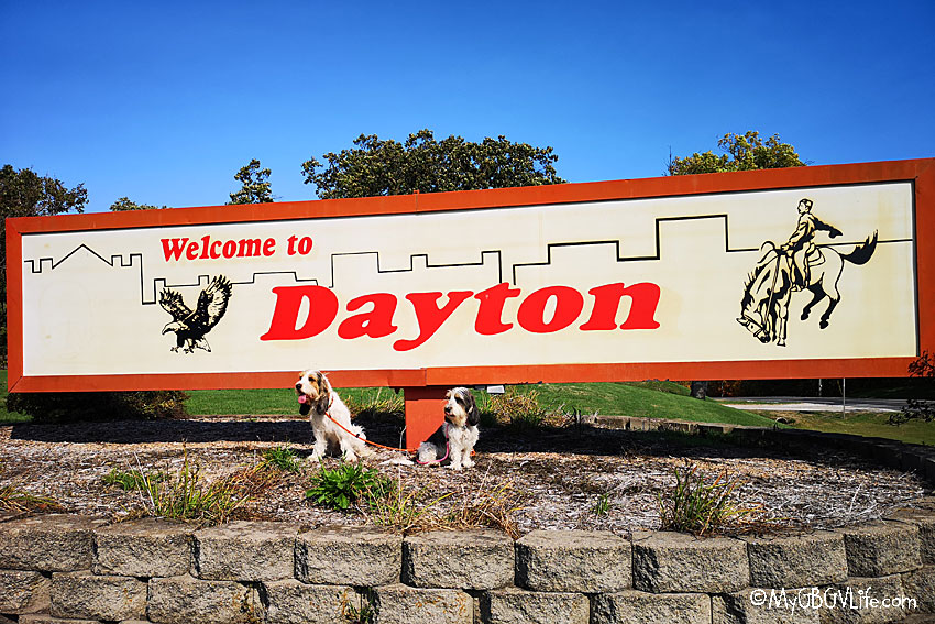 My GBGV Life Dayton sign