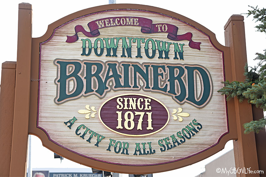 Brainerd sign