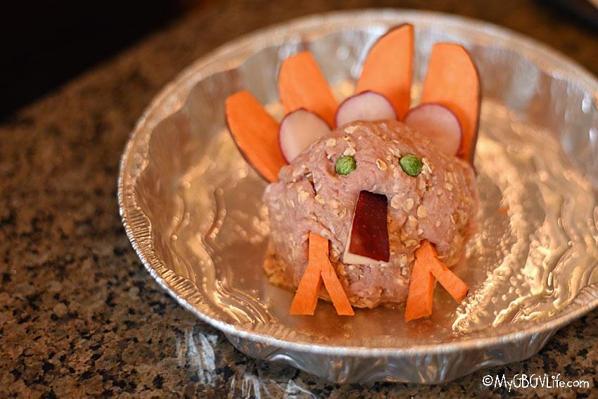My GBGV Life the turkey
