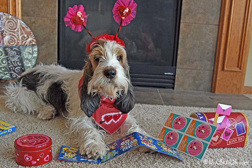 My GBGV Life Valentine cards