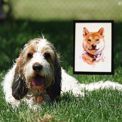 A Marvelous Custom Pet Portrait Gift Of One Marvel