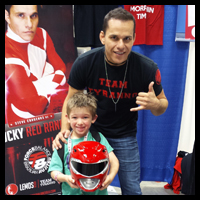 Red Ranger and Xander copy