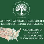 Registration is open for NGS' 2015 Family History Conference!