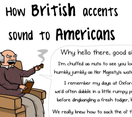 how brit sound to americans