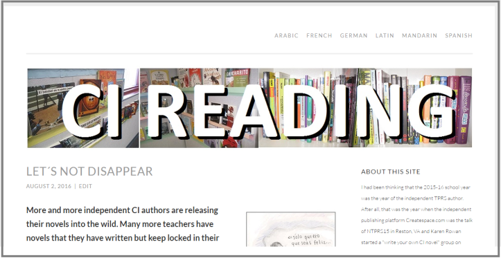 cireading front page