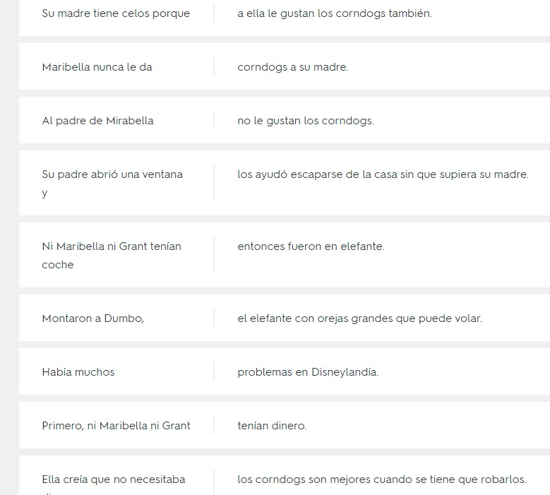 Quizlet Vocabulary Spanish