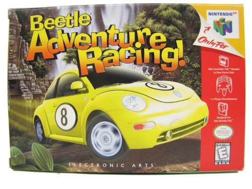 small resolution of n64 beetle adventure racing complete in box 1999