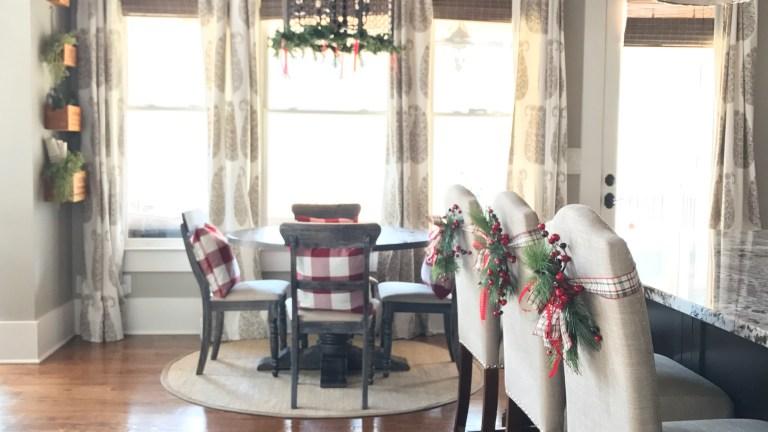 Bar Stool Wreaths