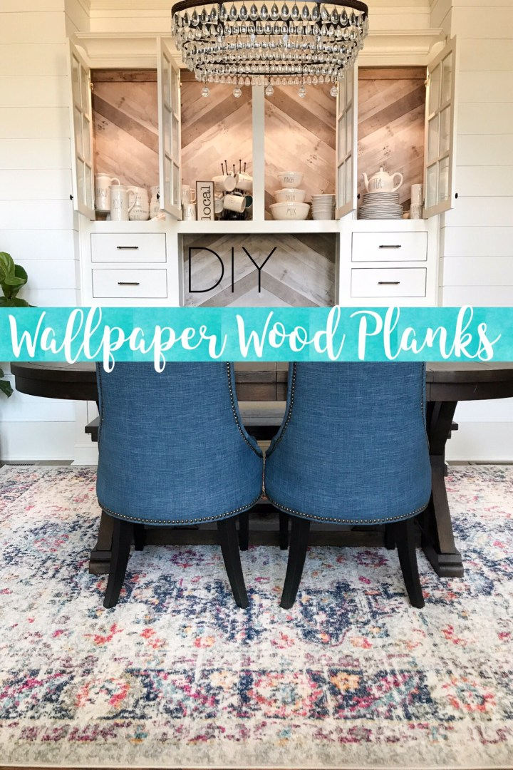 DIY Wood Wallpaper Planks