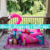 Beach Shopping Challenge