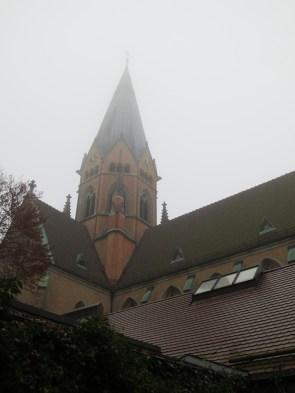 The main church tower
