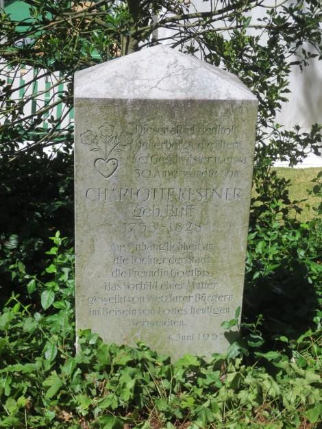 Memorial stone to the Kestner family