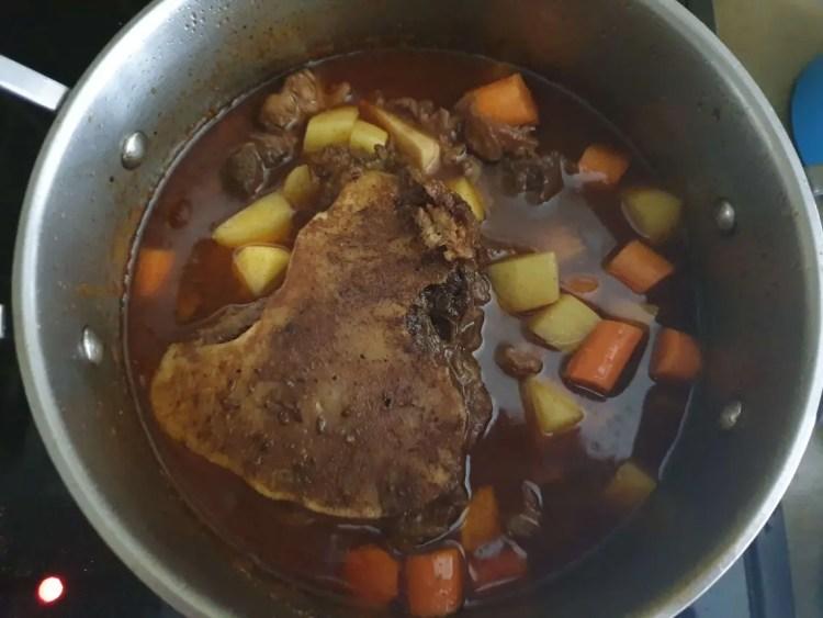 Finished Goulash Soup