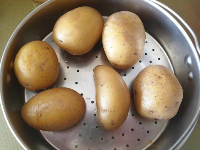 Floury jacket potatoes