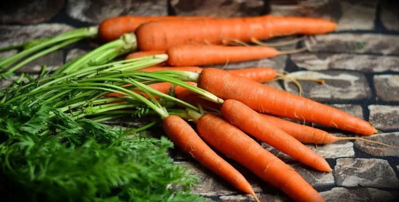 Beautiful looking carrots