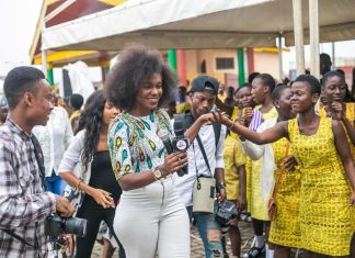"Becca Educates Over 1000 Students on ""Menstrual Hygiene"" In Kumasi"