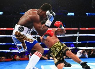 Champion!! Isaac Dogboe floors Jessie Magdaleno by TKO in eleven rounds