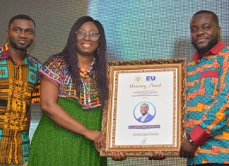 Dr Agyepong and JOSPONG group win African Prestigious Awards