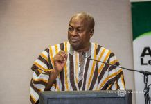 Former President John Dramani Mahama does not appear enthused about the fact that the New Patriotic Party (NPP) has succeeded in reducing electricity tariffs