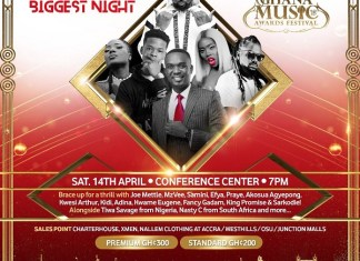 Sarkodie, Samini, Joe Mettle, Tiwa Savage, others named to thrill the audience at 2018 VGMA