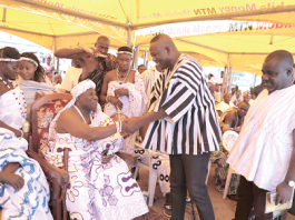 Effutu Traditional Area climaxes Aboakyer Festival with durbar