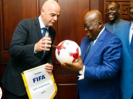Akufo-Addo invited to watch World Cup Finals