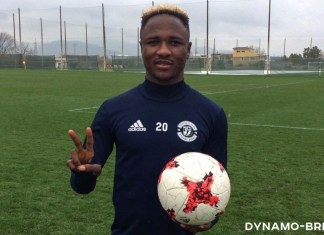 Joel Fameye to work with Diego Maradona at Dinamo Brest
