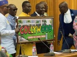 Ghana's film industry finally named 'Gollywood'