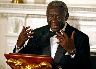 'No donor comes because they love us'– Kufuor