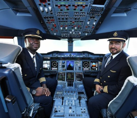 PHOTOS: Emirates A380 lands in Accra