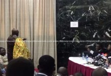 Normalization C'ttee member insults journalist for questioning his lateness to presser
