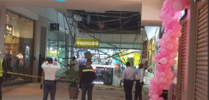 Ceiling collapses at Accra Mall