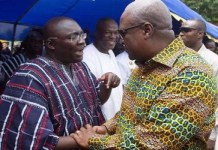 Bawumia disgracing the high office of 'Vice President' - Mahama jabs
