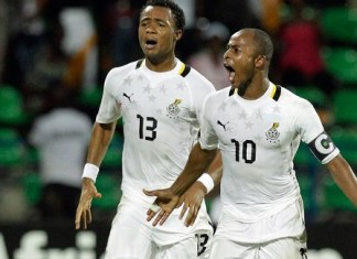 Jordan, Andre Ayew back for Ethiopia clash