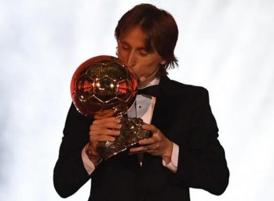 Modric wins Ballon d'Or, ends Ronaldo, Messi dominance